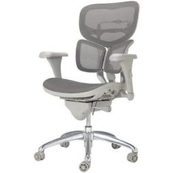 WorkPro Gray PRO-767E Commercial Mesh-Back Executive Chair