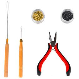 Hair Extensions Removal Tools Kit-Including Pliers,Micro Pul