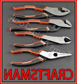 "CRAFTSMAN HAND TOOLS 4pc 6"" Needle Nose 6-3/4"" Slip Joint 6"""