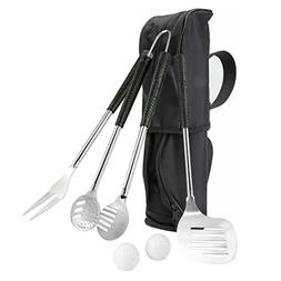 Doatry Heavy Duty 6 Piece BBQ Grill Tools Set, Stainless-Ste