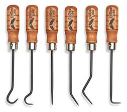Hook And Pick Tool Set - 6 Multipurpose Handcrafted Quality
