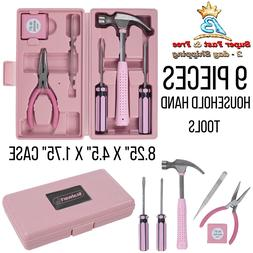 Household Hand Project Tools Home Essential Maintenance Pink