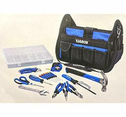 KOBALT 22pc HOUSEHOLD TOOL SET KNIFE HAMMER PLIERS WRENCH SA