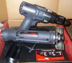 """Ingersoll Cordless Drill 1/2"""" Dr WITH 3"""" IR C/O TOOL 14.4V B"""