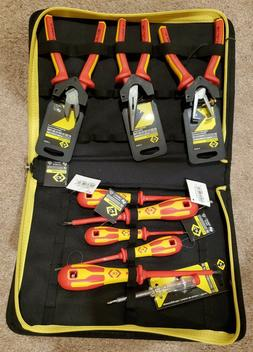 CK insulated tool set - pliers cutters strippers screwdriver