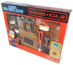 Black and Decker Jr real Tool Belt Pretend Construction Tool