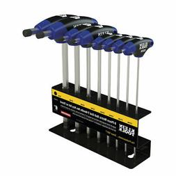 Klein Tools JTH68MB 6-Inch Metric Ball End T-Handle Set 8-Pi