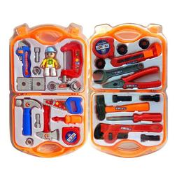 Kids Boys Role Play Pretend Play Toys Plastic Builder Tool S
