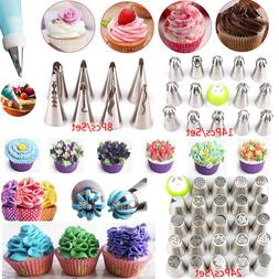 Kits Of Russian Flower Cake Decorating Icing Piping Nozzles