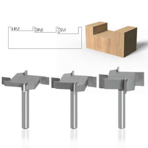 """1/4"""" 6mm Router Bits Slotting Tool"""