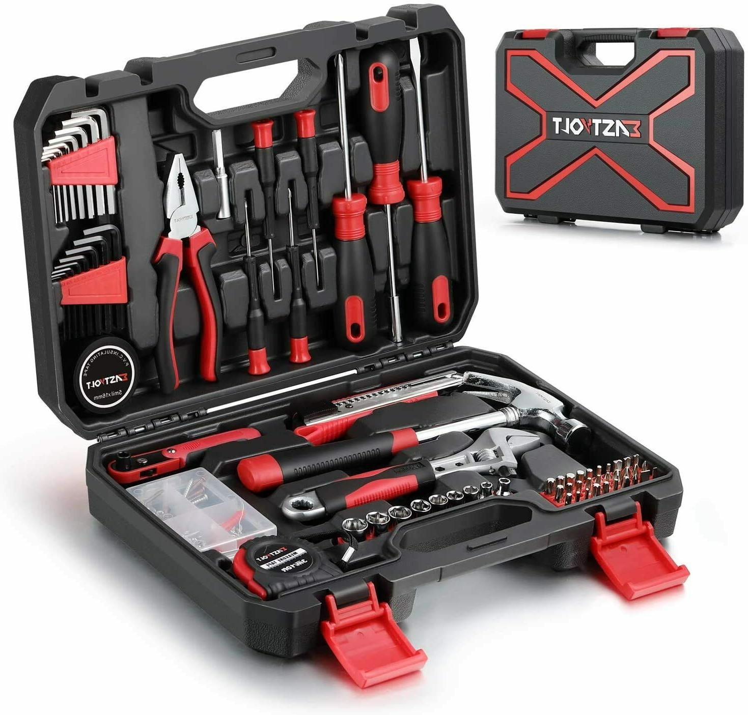 128-Piece Home Repair Tool Set, Tool Sets for Homeowners, Ge