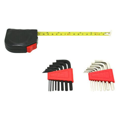 130 Kit Home Repair Tool Set with Case Hardware
