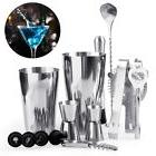14Pcs Stainless Steel Cocktail Shaker Mixer Drink Bartender