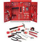 151 Piece Hand Tool Set Cabinet Metal Wall General Wrench Dr