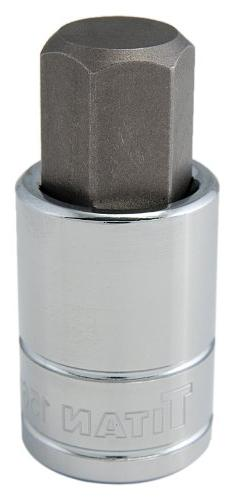 "Titan Tools 15617 17 mm 1/2"" Drive Hex Bit Socket"