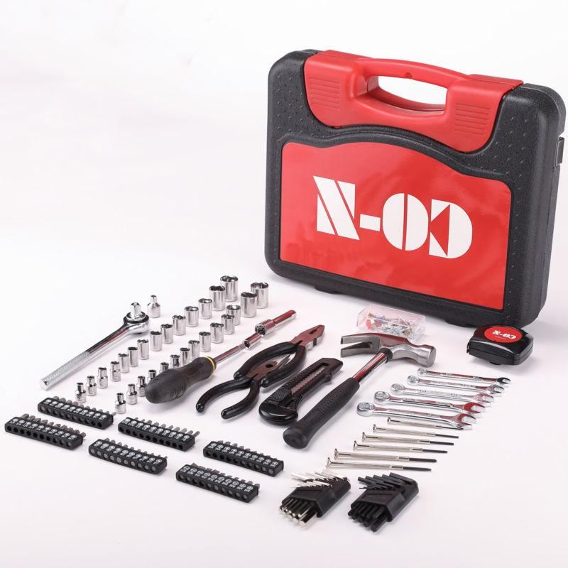 186pcs Tool Case Auto Home Repair Warranty