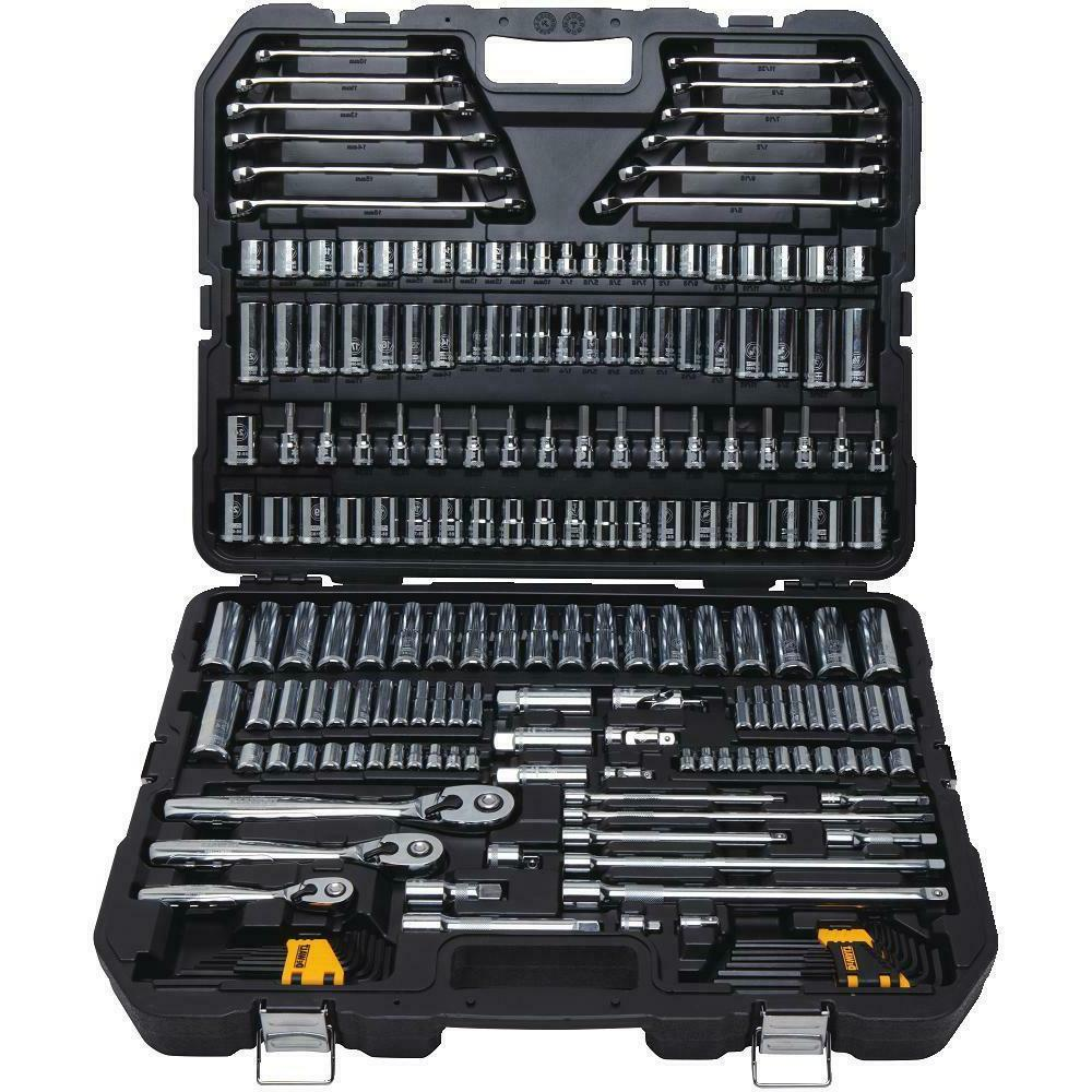 DEWALT 204 Piece Mechanics Tool Set PC Wrench