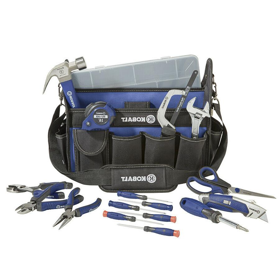 Kobalt 22-Piece Household Tool Set with Soft Case