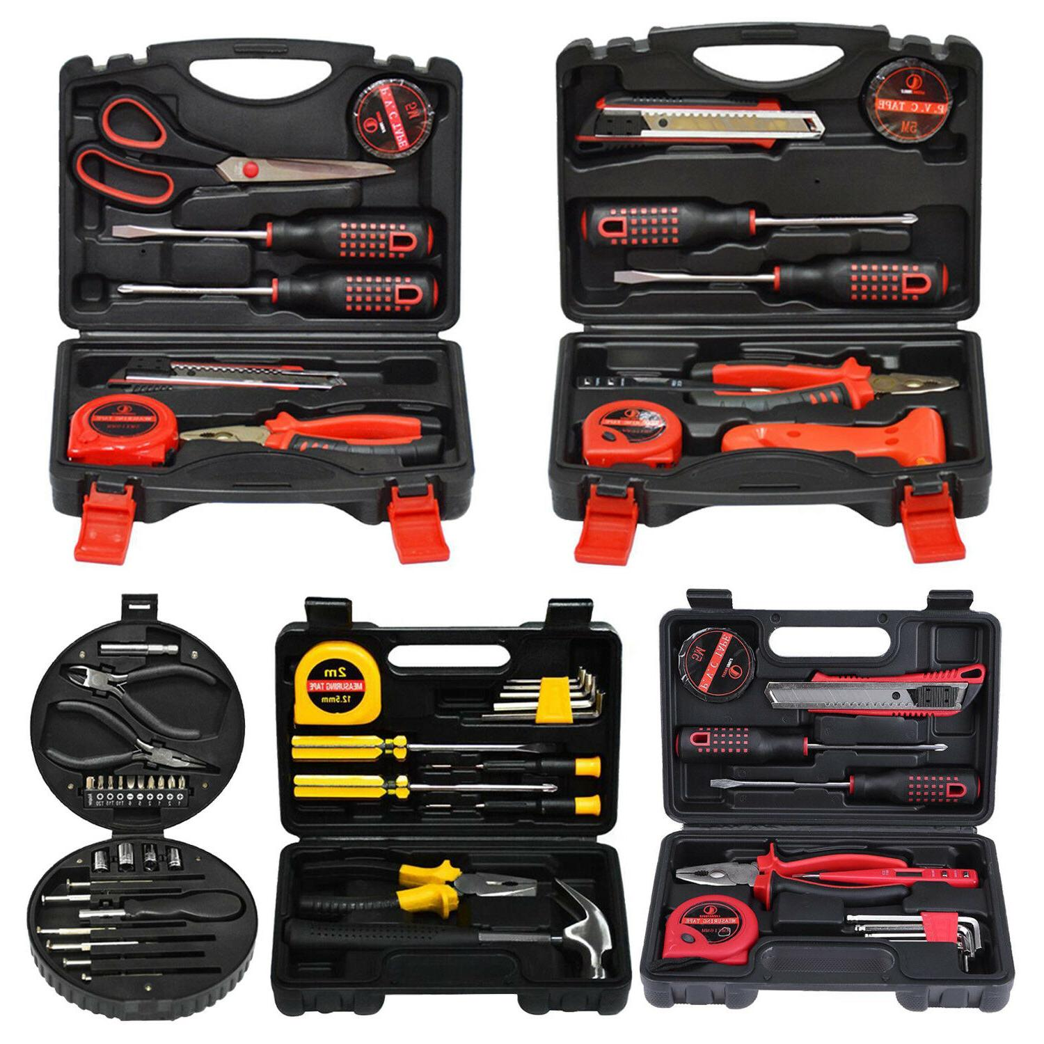 24 pcs Home Household Tool Set Steel Hand Tools Kit with Too