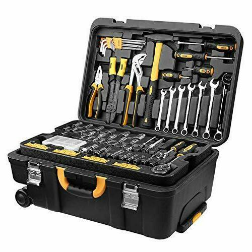 DEKO Tool Mechanic Tool Kit Essential Box