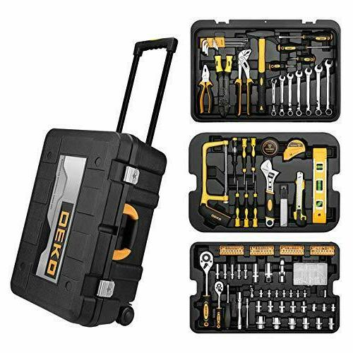 258pcs tool set mechanic household diy hand