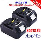 2PACK SET 18V 3.0Ah Lithium-Ion Batteries LXT Battery For Ma