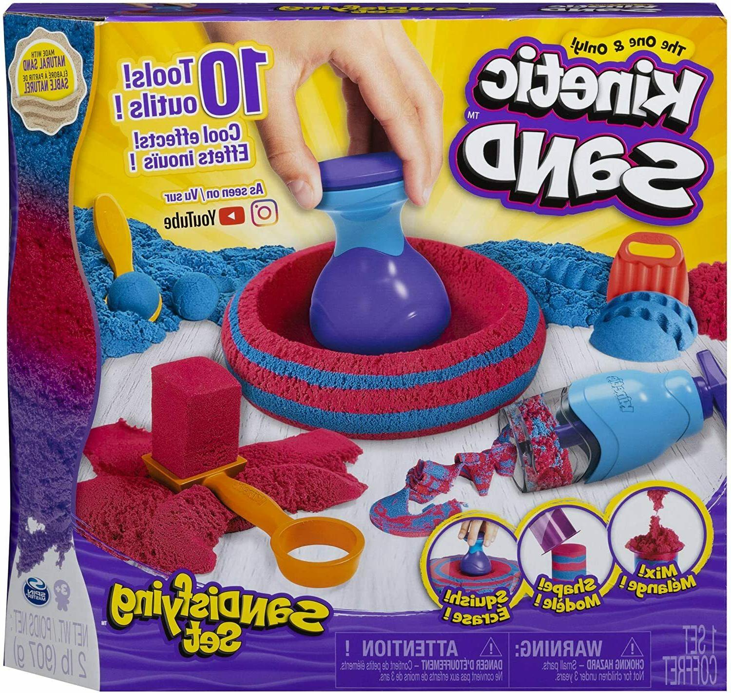 2lb sand and tools sandisfying play set