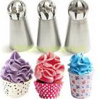 3set Sphere Ball Tips Russian Icing Piping Nozzles Tips Past