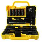 43Pcs Professional Electric Mechanic Repair Tool Set Kit Hou