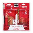 Milwaukee 48-89-4631 Kit 23 PC TiN SHOCKWAVE KIT