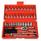 46pcs 1 4 ratchet wrench combination package