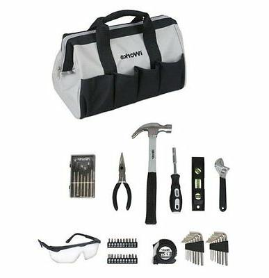 iWork 50 Piece Garage/Mechanics/Homeowners Tool Set W/Carryi