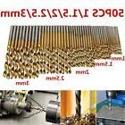 50pc Hex Shank Titanium Drill Bits Set Wood Carpenter Masonr