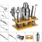 550ML Cocktail Shaker Drink Mixer Tool Bartender Kit Home Ki