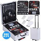599 pcs Tool Set Standard Metric Mechanics Kit with Trolley