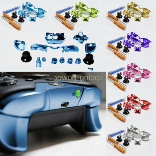 7 Color Replacement Bumper Trigger Button W/Tools For XBOX O