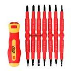7 Pcs Insulated Electrical Hand Screwdriver Tool Set With Bo