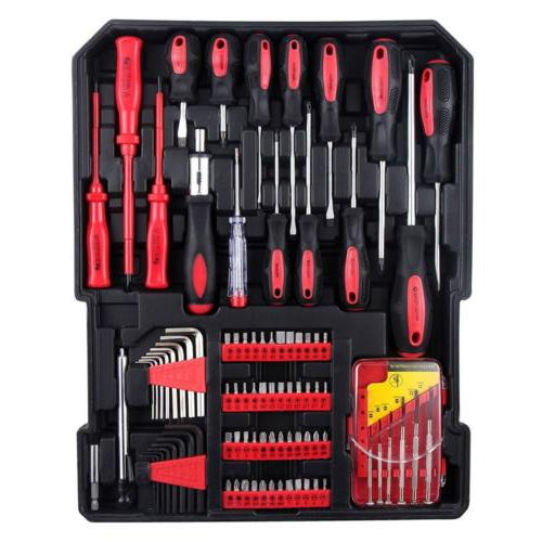 799 Set Mechanics Kit Socket Toolbox Keys