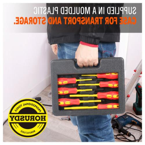 8pc Electrician's Electrical Set New