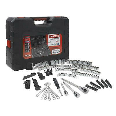 Craftsman 230 Pc Silver Stainless Finish Standard Metric Mec