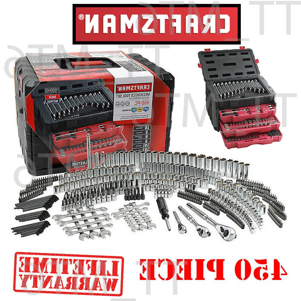 450 piece mechanic s tool set