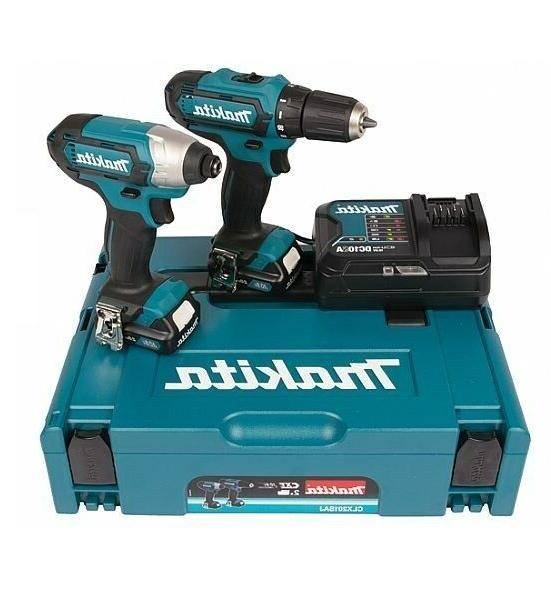 Makita Cordless Tool Set CLX201SAJ DF331D + TD110D 10.8V Vol
