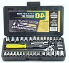 Tool Set Sockets Great Neck PSO40 40 Piece 1/4-Inch and 3/8-