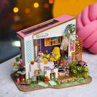Assemble Toys Doll Miniature Wooden DIY LED Children Gifts T