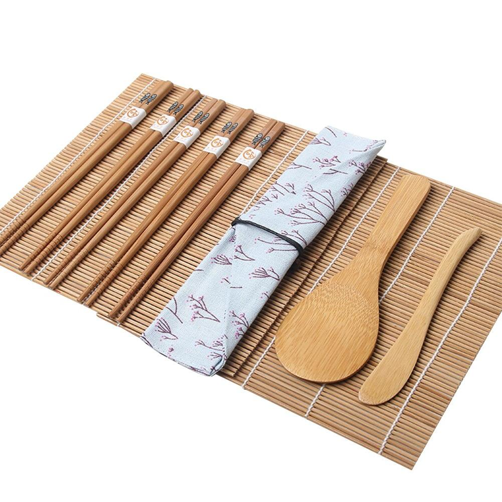 Bamboo Maker <font><b>Set</b></font> <font><b>Tools</b></font> Pairs Bag Non