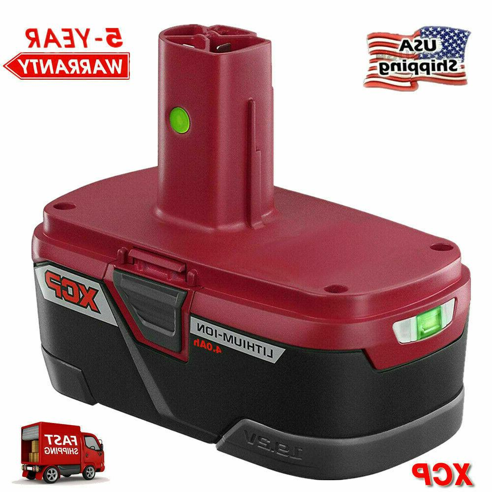 New Sealed Craftsman C3 19.2-Volt 4Ah XCP High Capacity Lithium-Ion Battery Pack