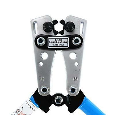 Cable Crimper for 8, 6,4, 2 ,1/0