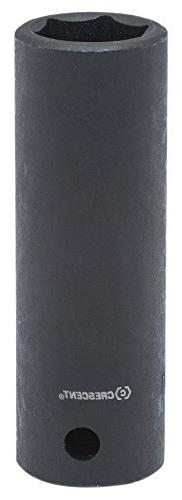 "Crescent CIMS34 1/2"" Drive, 19mm Deep Impact Socket - 6 Poin"