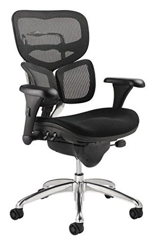 WorkPro Commercial Back Executive Black