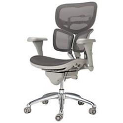 WorkPro Commercial Mesh Executive Chair, Grey